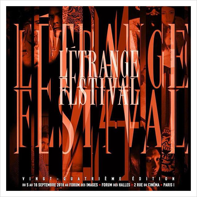 Affiche Etrange Festival 2018